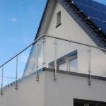 gbaa007 Edelstahlgeländer aus V4A mit Füllelementen - Außenanlagen