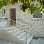 gbaa013 Handlauf und Treppengeländer aus Edelstahl - Außenanlagen