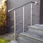 gbeb011 Edelstahlhandlauf für Treppenaufgang