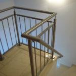 gbia003 Treppengeländer und Handlauf aus Edelstahl - Innenanlagen