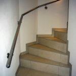 gbia009 Treppenhandlauf aus Edelstahl - Innenanlagen