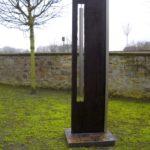 gbme007 Skulptur aus Stahl und Edelstahl - Metallgestaltung