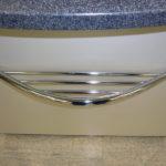 gbmo002 Verchromte Taschenablage 600mm - Einrichtungen