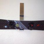 gbmo005 Snowboardhalterung aus Edelstahl - Einrichtungen