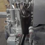 gbsk003 Abgasanlage schwarz-verchromt - Schlosserarbeiten