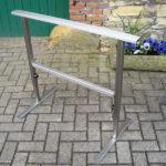 gbsk005 Höhenverstellbarer Montage-Bock aus Edelstahl - Schlosserarbeiten