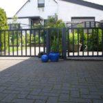gbto003 Hoftor und Tür verzinkt und pulverbeschichtet - Tore, Türen & Zäune