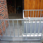 gbto012 Nachträglich montiertes Schiebetor aus verzinktem Stahl - Tore, Türen, Zäune